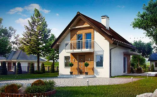 Проект дачного дома 3001