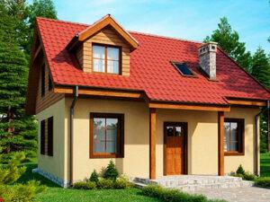 Дом из SIP-панелей #1015