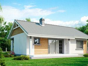 Проект Дачного дома из SIP-панелей #3006