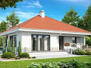 Дом из SIP-панелей #1023