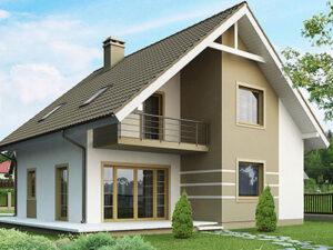Дом из SIP-панелей #4058