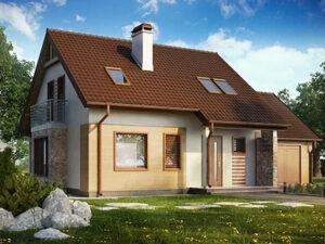 Дом из SIP-панелей #4052
