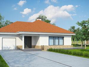 Дом из SIP-панелей #4053