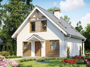 Дом из SIP-панелей #4051