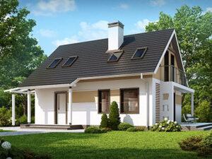 Дом из SIP-панелей #4055